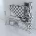 3d Muebles para la TV model buy - render