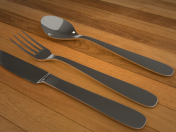 3D Spoon Set