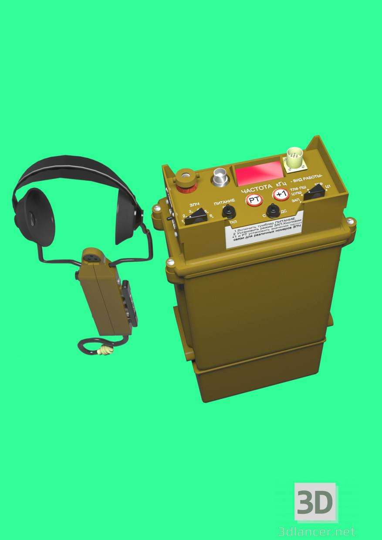 3d model radio station R-163 U1 - preview