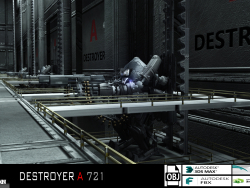 DESTROYER A 721