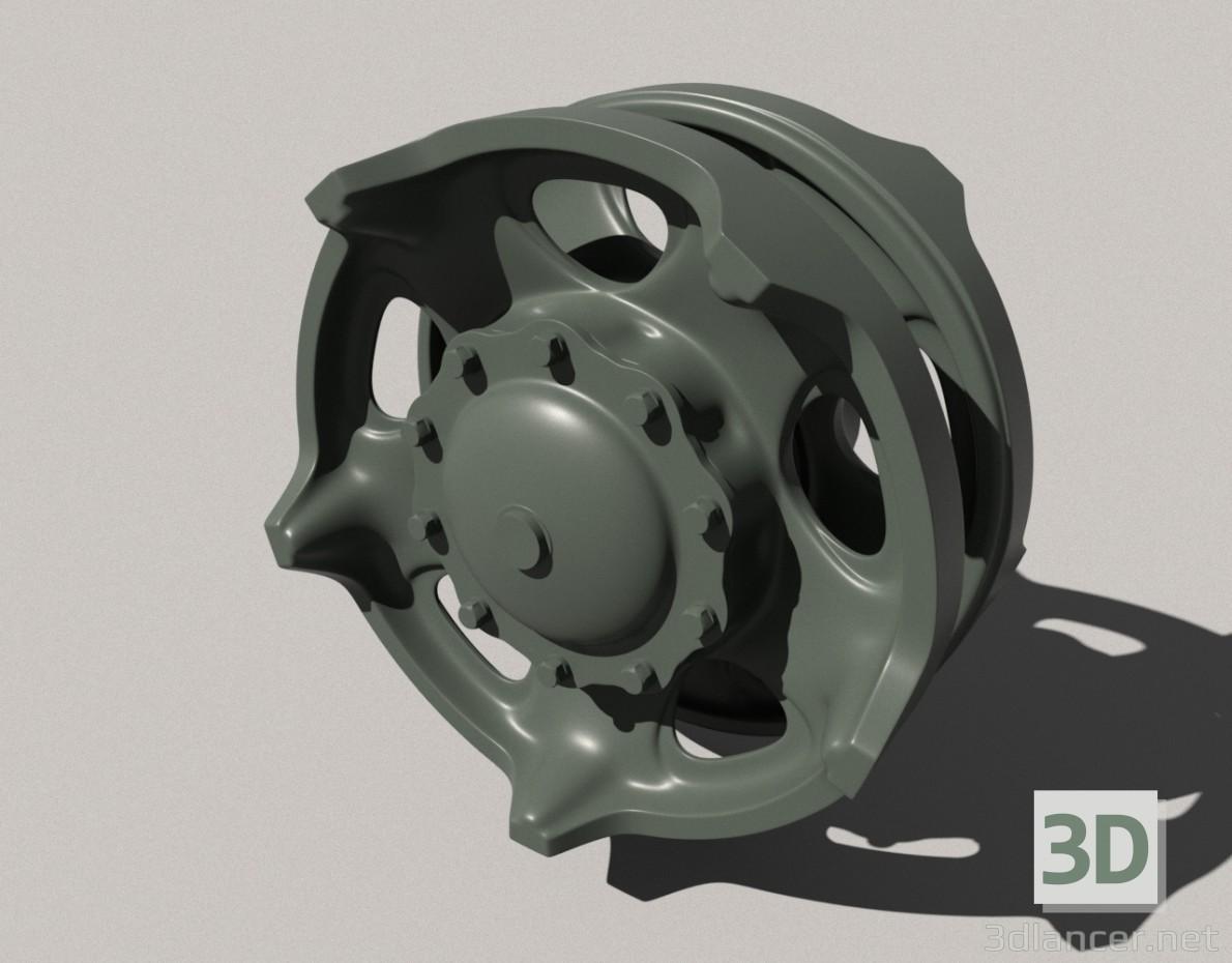 3d model Idler wheel t-72-90 - preview
