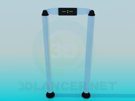 3d model metal Detector - preview