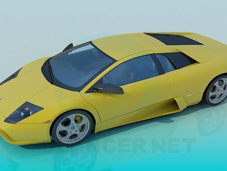 modelo 3D Lamborghini Murcielago - escuchar
