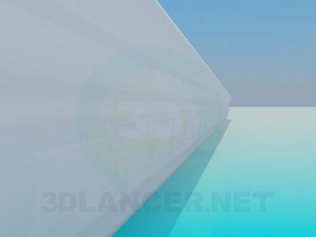 modelo 3D Marcos de techo - escuchar