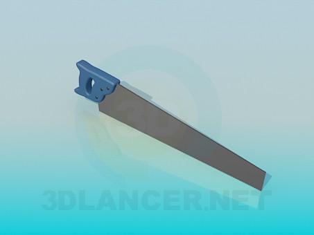 3d модель Ножівка – превью