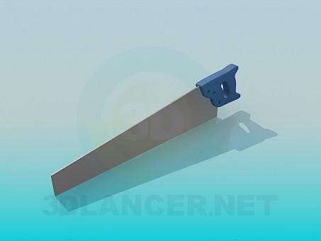3d модель Ножовка – превью
