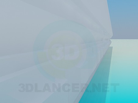 3d modeling Gypsum Baguette model free download
