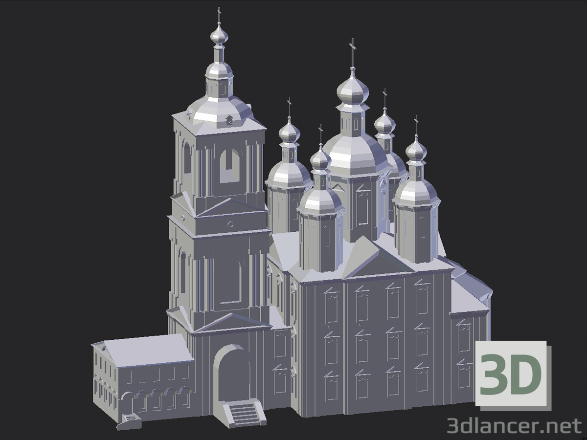 3d model Arzamas. Annunciation Church - preview