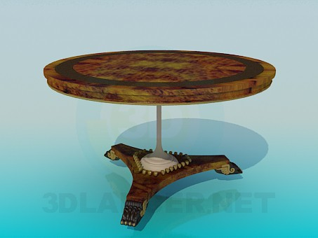 3d modeling Roundtable model free download