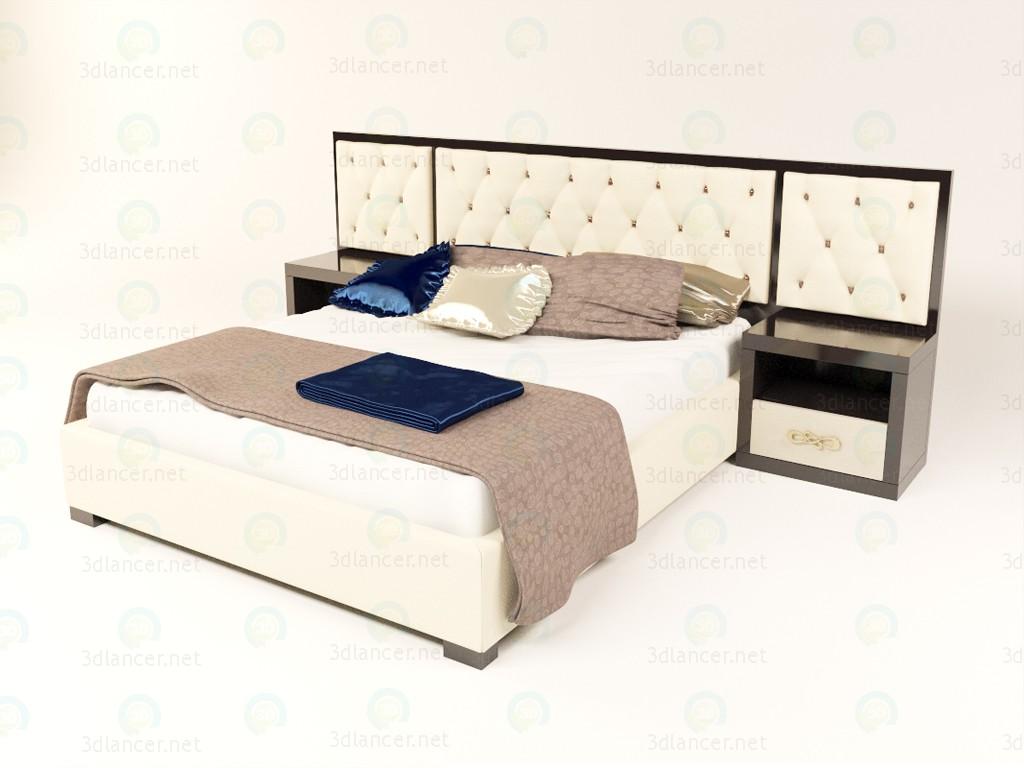 3d Ліжко Glamour модель купити - зображення