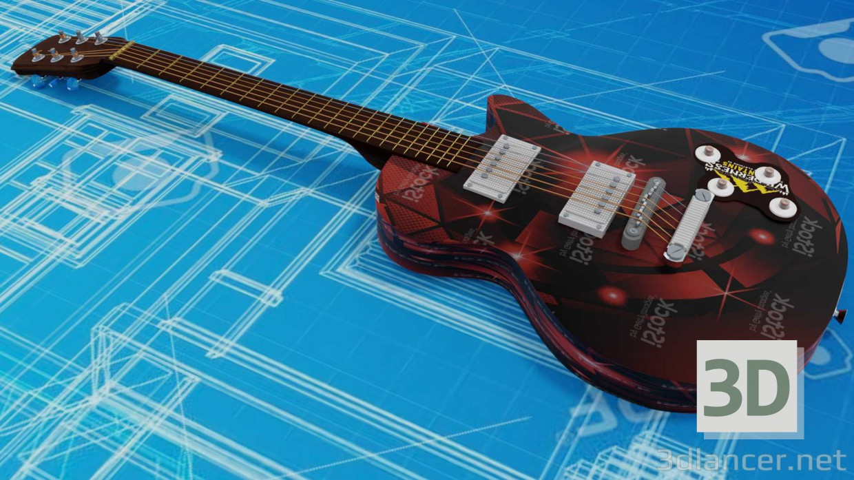 3d model Gibson les paul - preview