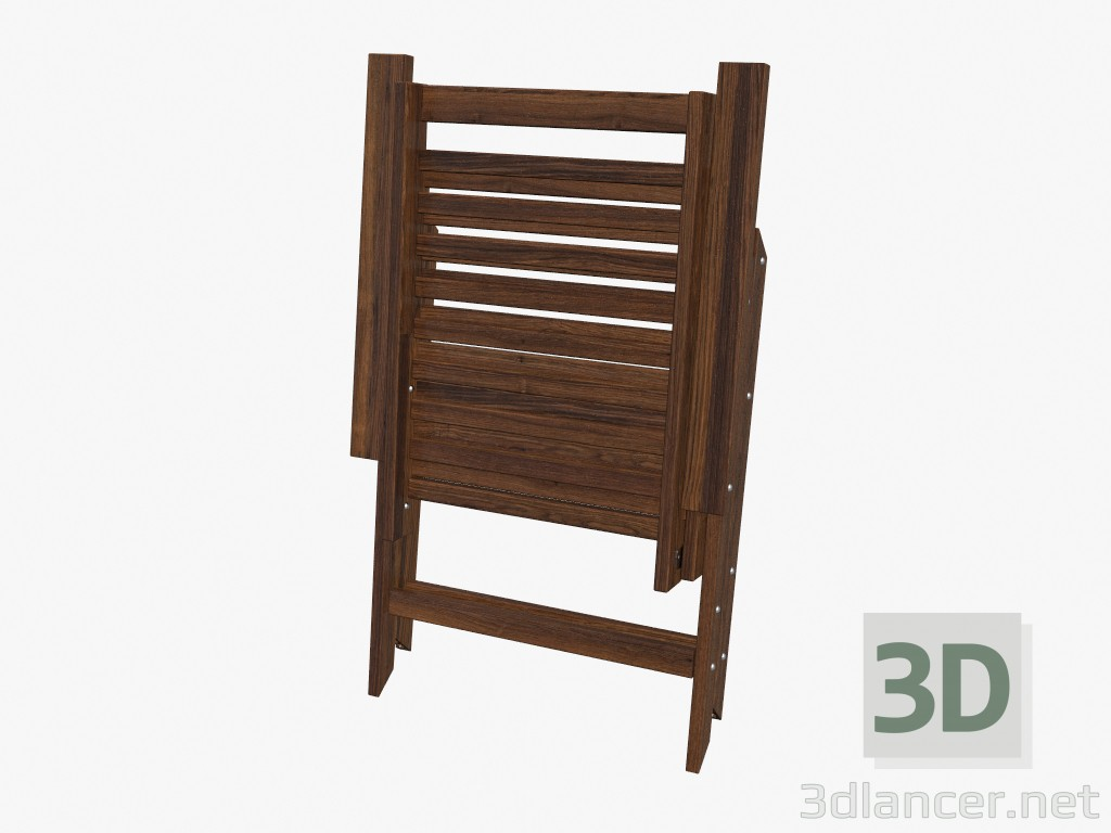 mattress and frame set 3d model folding chair when folded manufacturer ikea id 16169 16169
