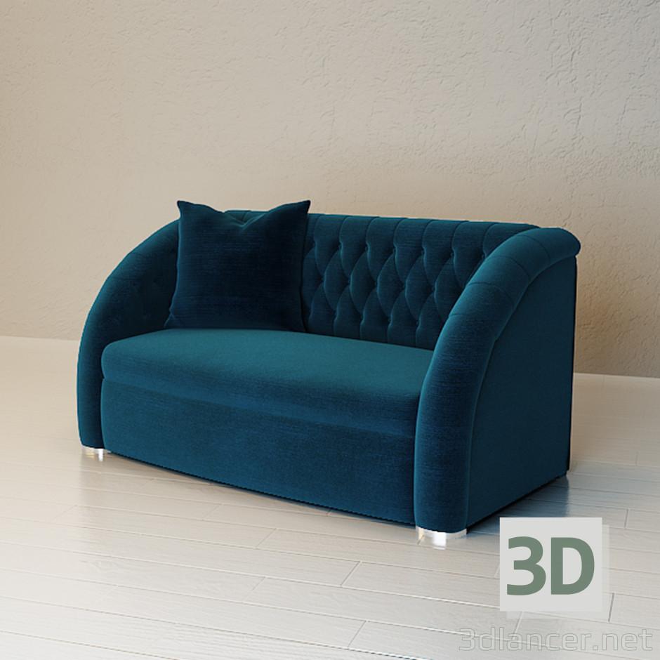 3D Modell Sofa - Vorschau