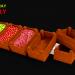 3D modeli 3D Ahşap Tepsi Oyun varlığı-DÜŞÜK POLY - önizleme