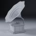 3d gramophone model buy - render
