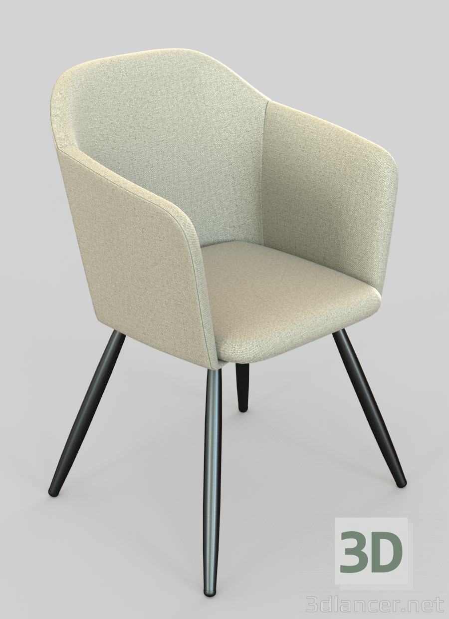3d Dining chair Walter (Wolter) model buy - render