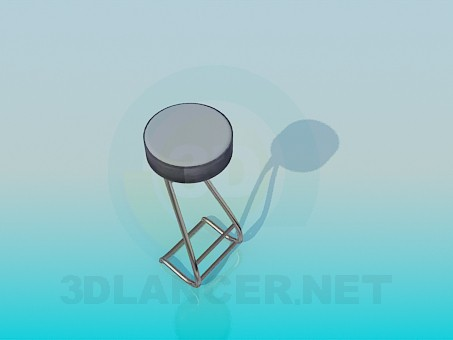 3d model Round stool - preview