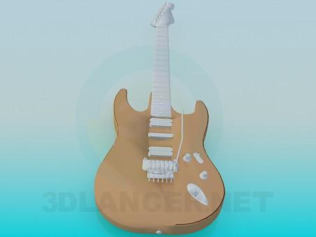 3d модель Гитара – превью