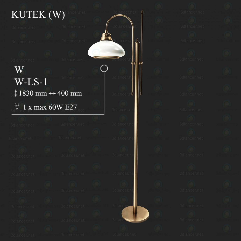 3d модель Торшер KUTEK W W-LS-1 – превью