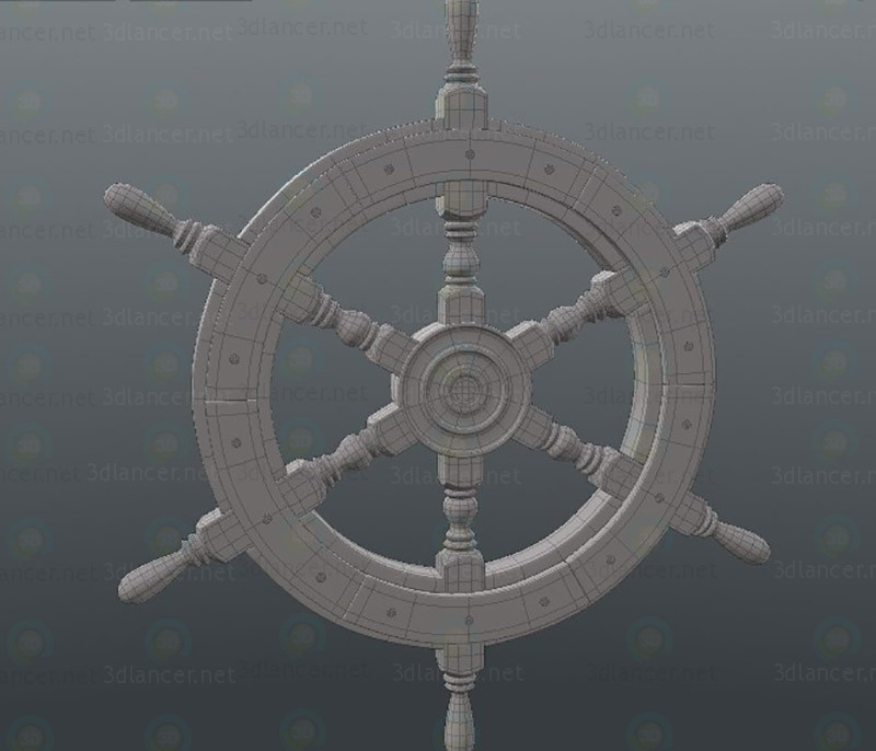 3d model Ships helm - preview