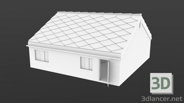 3d Model House Blender 3ds Obj Free Download