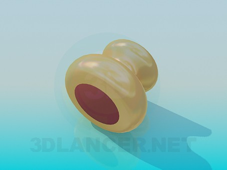 3d model Furniture handle - preview