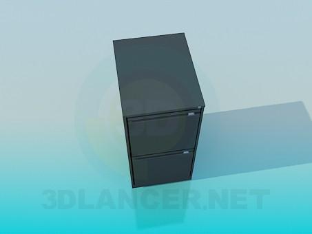 3d modeling Austere cupboard model free download