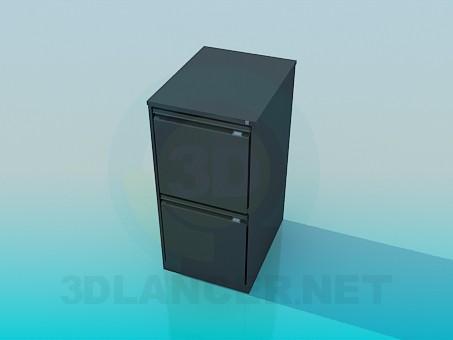 modelo 3D Armario austero - escuchar
