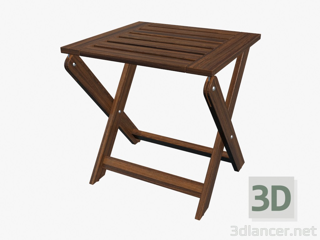 3d model stool folding manufacturer ikea id 16171 for Ikea folding stool