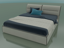 Double bed Limura under the mattress 1800 x 2000 (2040 x 2250 x 940, 204LIM-225)