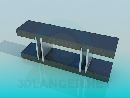 3d model Table-stand - preview