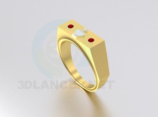 descarga gratuita de 3D modelado modelo anillo