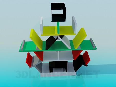 modelo 3D Dejar de lado el excéntrico - escuchar
