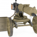 3d model Maxim machine gun - preview