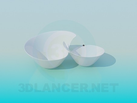 3d modeling Bowls model free download