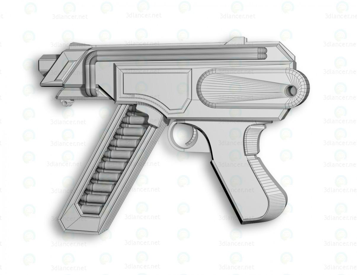 "Subfusil ametrallador ""Wasp"" 3D modelo Compro - render"