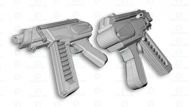 """3d Пістолет-кулемет """"Wasp"""" модель купити - зображення"""