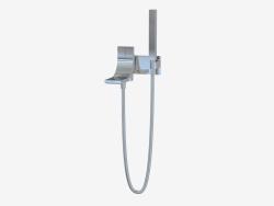 Набор для ванны с двойным управлением с носиком и ручным душем Si (SI2081)