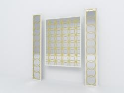 Paneles decorativos de espejo