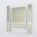 3d Decorative Mirror Panels model buy - render