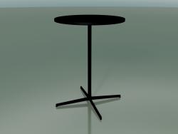 Table ronde 5523, 5543 (H 105 - Ø 79 cm, Noir, V39)