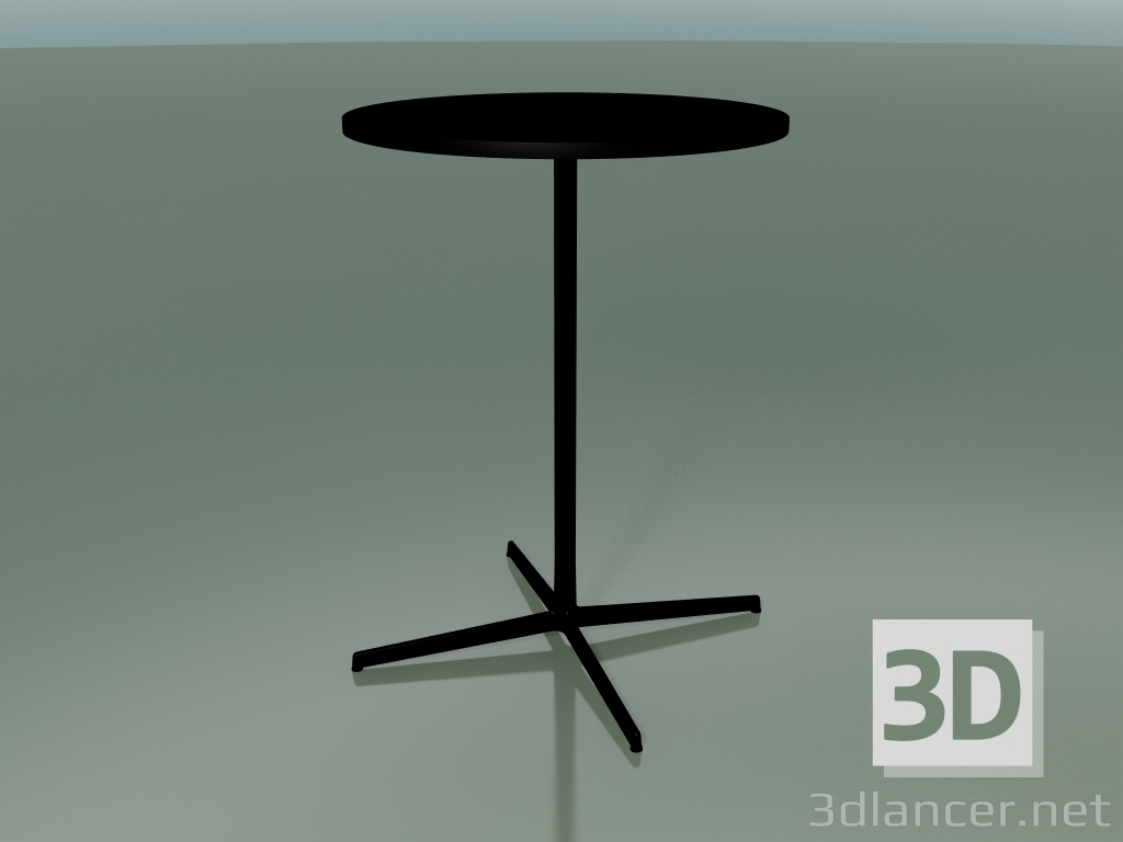 3d model Round table 5523, 5543 (H 105 - Ø 79 cm, Black, V39) - preview