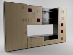The wall unit for the living room 2
