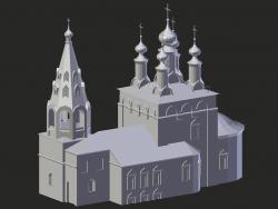 रियाज़ान। एपिफेनी चर्च