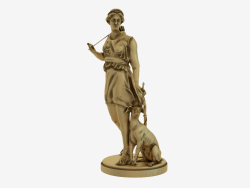 Bronze sculpture Diana