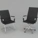 3 डी मॉडल कार्यालय के लिए कुर्सी और कुर्सी - पूर्वावलोकन