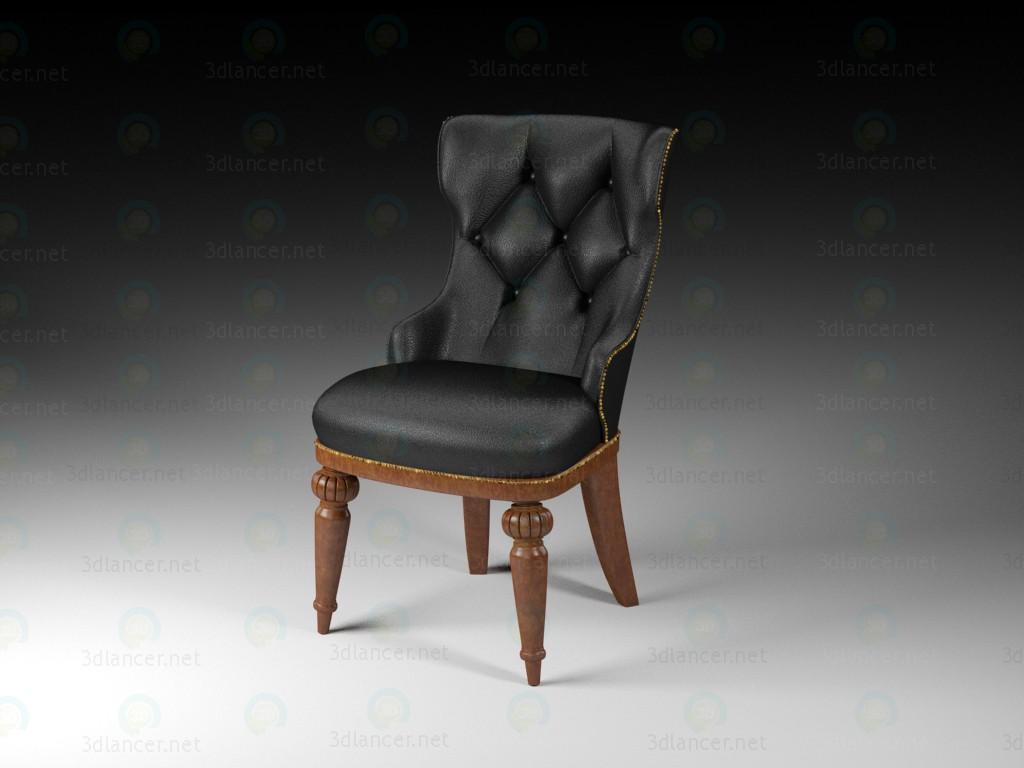 3d моделювання Класичний стілець модель завантажити безкоштовно