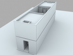 Azuma House di Tadao Ando