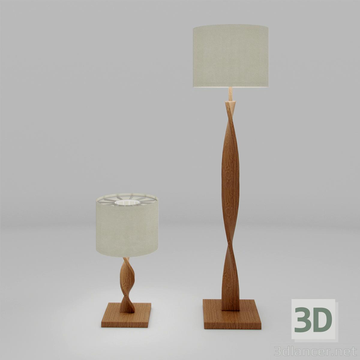 3d model Lamps vint - preview