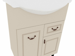 Cupboard with sink